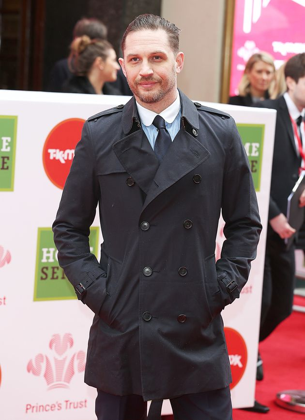 Tom Hardy at a Prince's Trust event back in