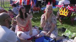 Royal Wedding Watchers Get Their Picnic