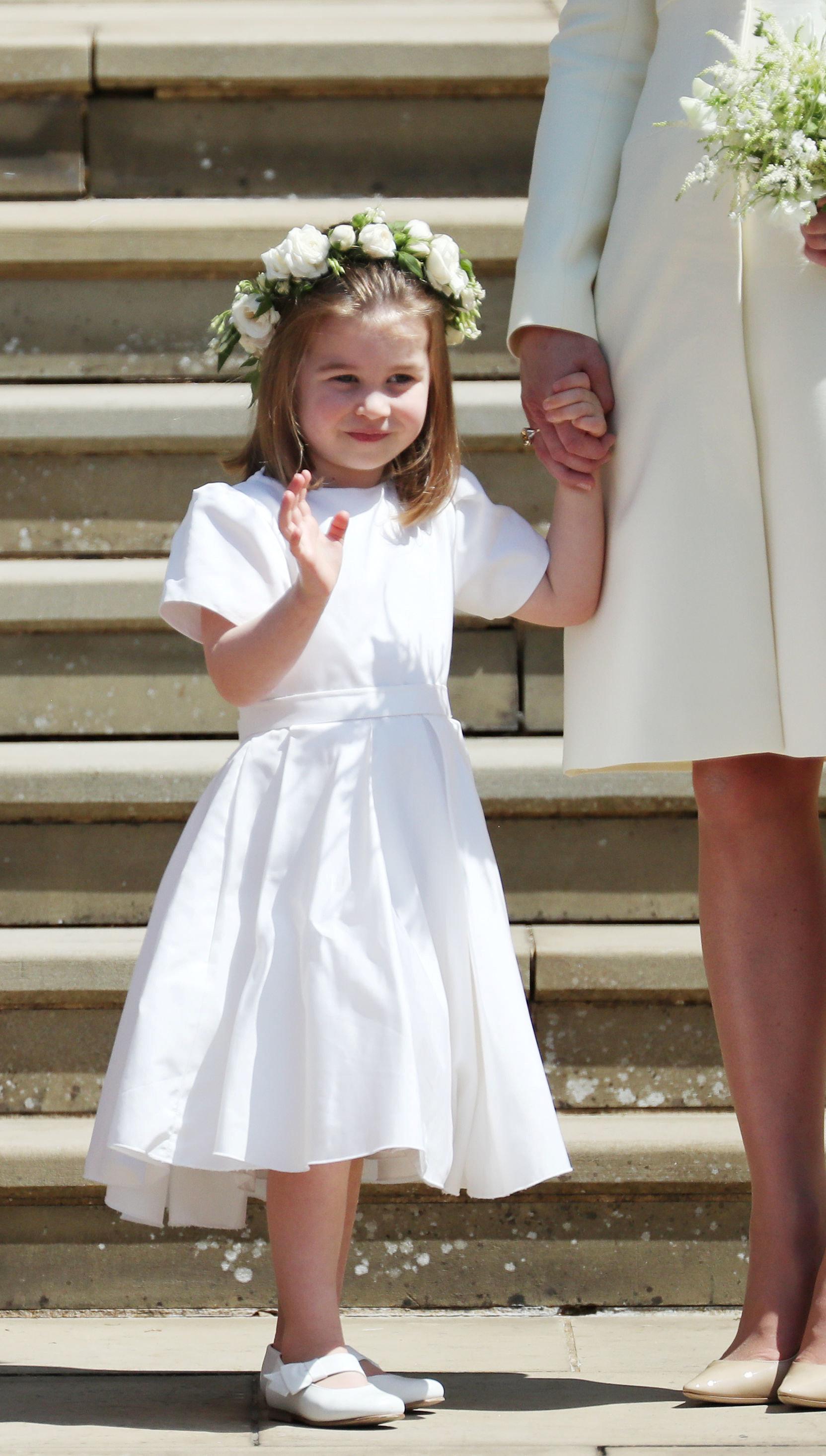 해리 왕자 결혼식에서 모두의 시선을 사로잡은 두 아이 (화보)