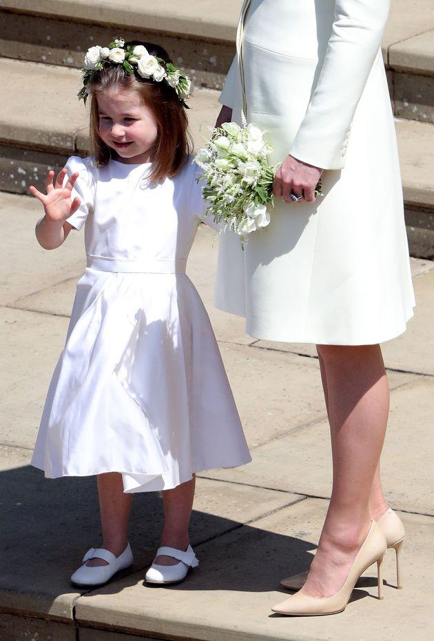 해리 왕자 결혼식에서 모두의 시선을 사로잡은 두 아이