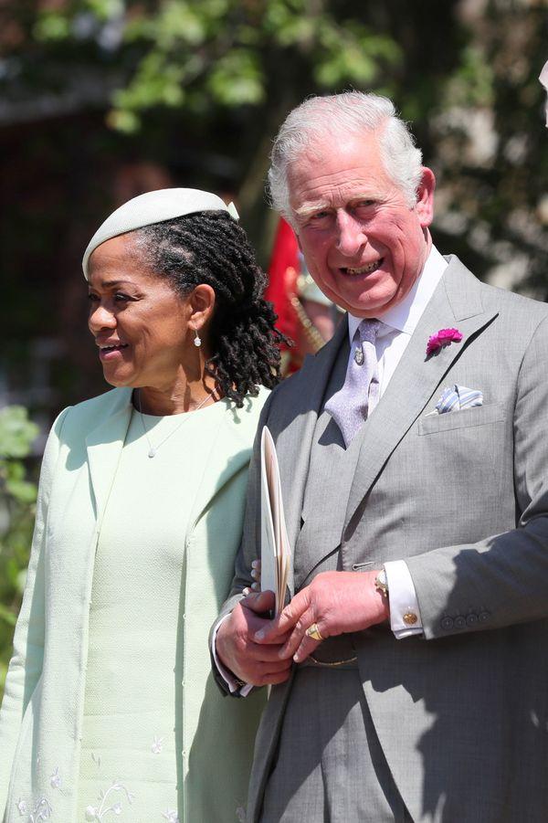 Doria Ragland and Prince Charles.