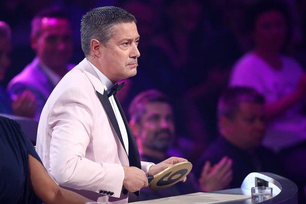 Konnte sich anzügliche Kommentar nicht verkneifen: Juror Joachim
