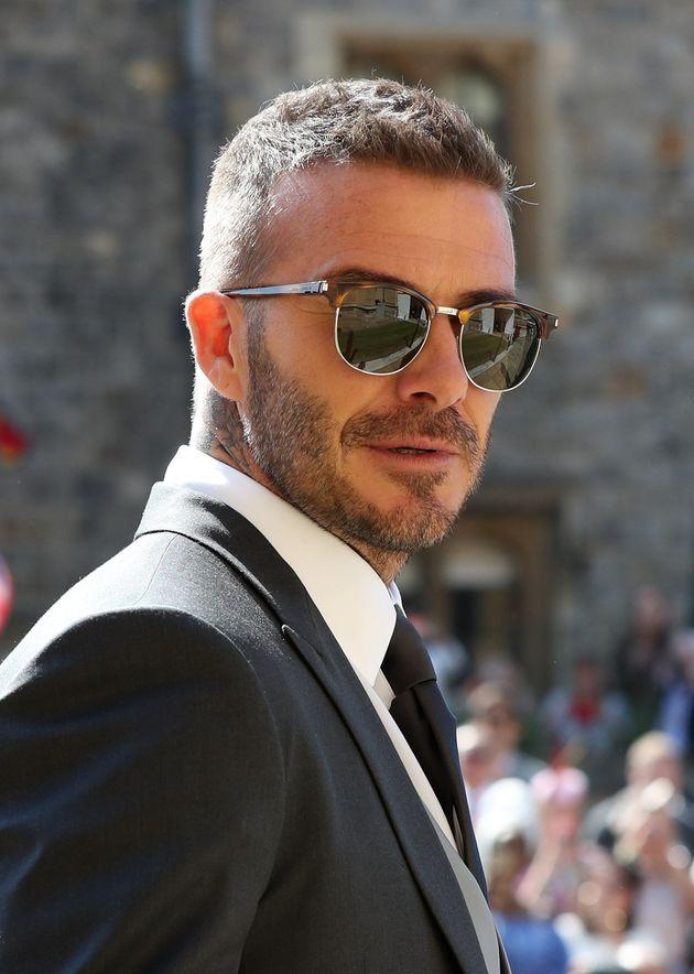 Looks We Love: David Beckham's Suave Sunglasses At The Royal