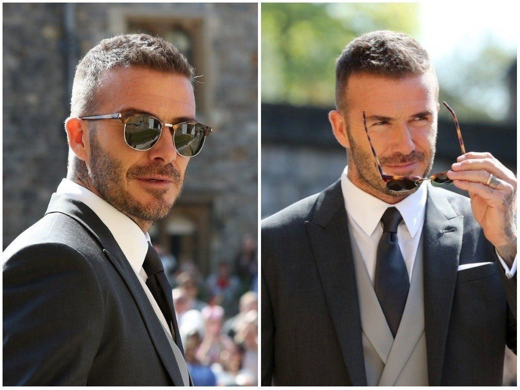 Looks We Love: David Beckham's Suave Sunglasses At The Royal