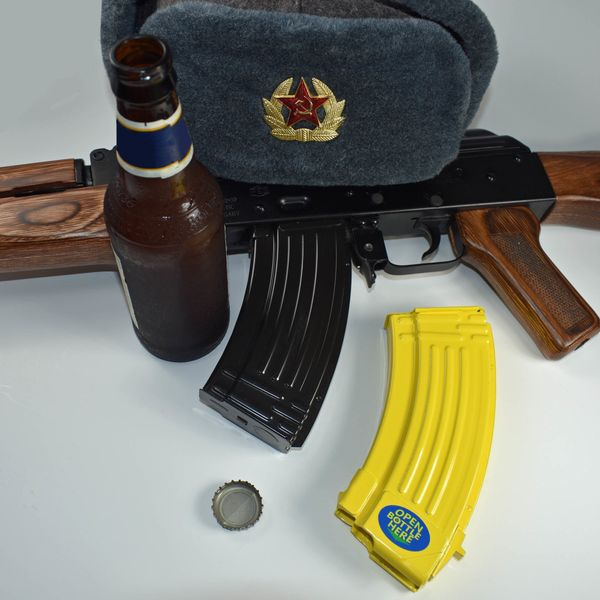 "Think assault rifles have no real purpose with civilians? Maybe, but when you have a bunch of beer bottles, <a href=""https://"