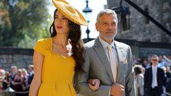 Amal et George Clooney au mariage du prince Harry et de Meghan Markle: ils volent la vedette à tous les invités du mariage princier