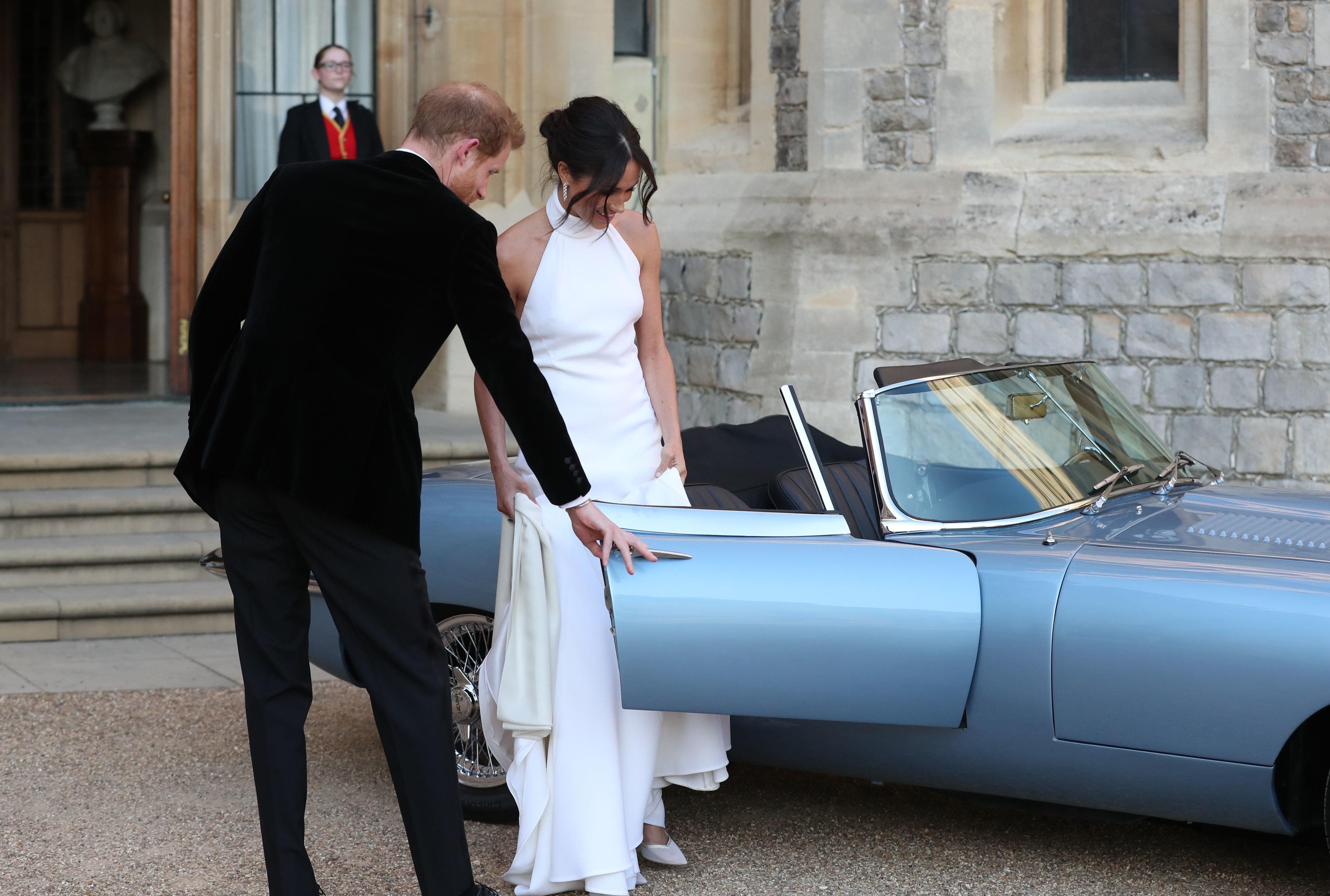Meghan Markle Reveals Her Stunning Evening Dress