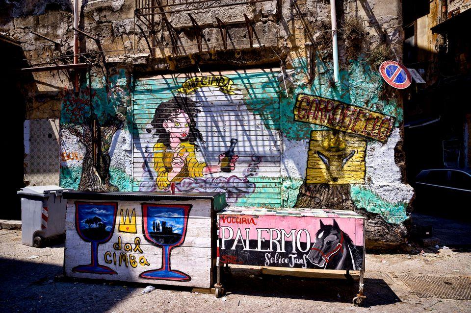 Graffitis in