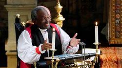 영국 '로열웨딩' 최초로 흑인 주교가 설교를