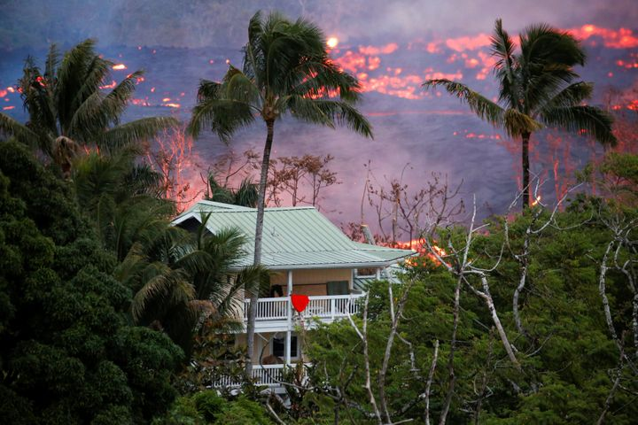 The ongoing eruptions on Kilauea volcano have claimed dozens of structures and forced 1,700 residents out of their homes over