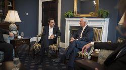 Τηλεφωνική επικοινωνία Τσίπρα με τον αντιπρόεδρο των ΗΠΑ. Στηρίζουν την προσπάθεια επίλυσης στο Σκοπιανό αλλά θυμίζουν πως ο...