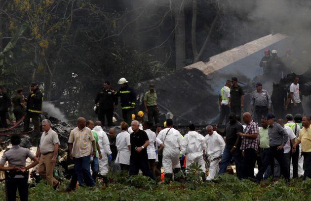 Le crash d'avion à La Havane a fait 110 morts et trois blessés selon un dernier