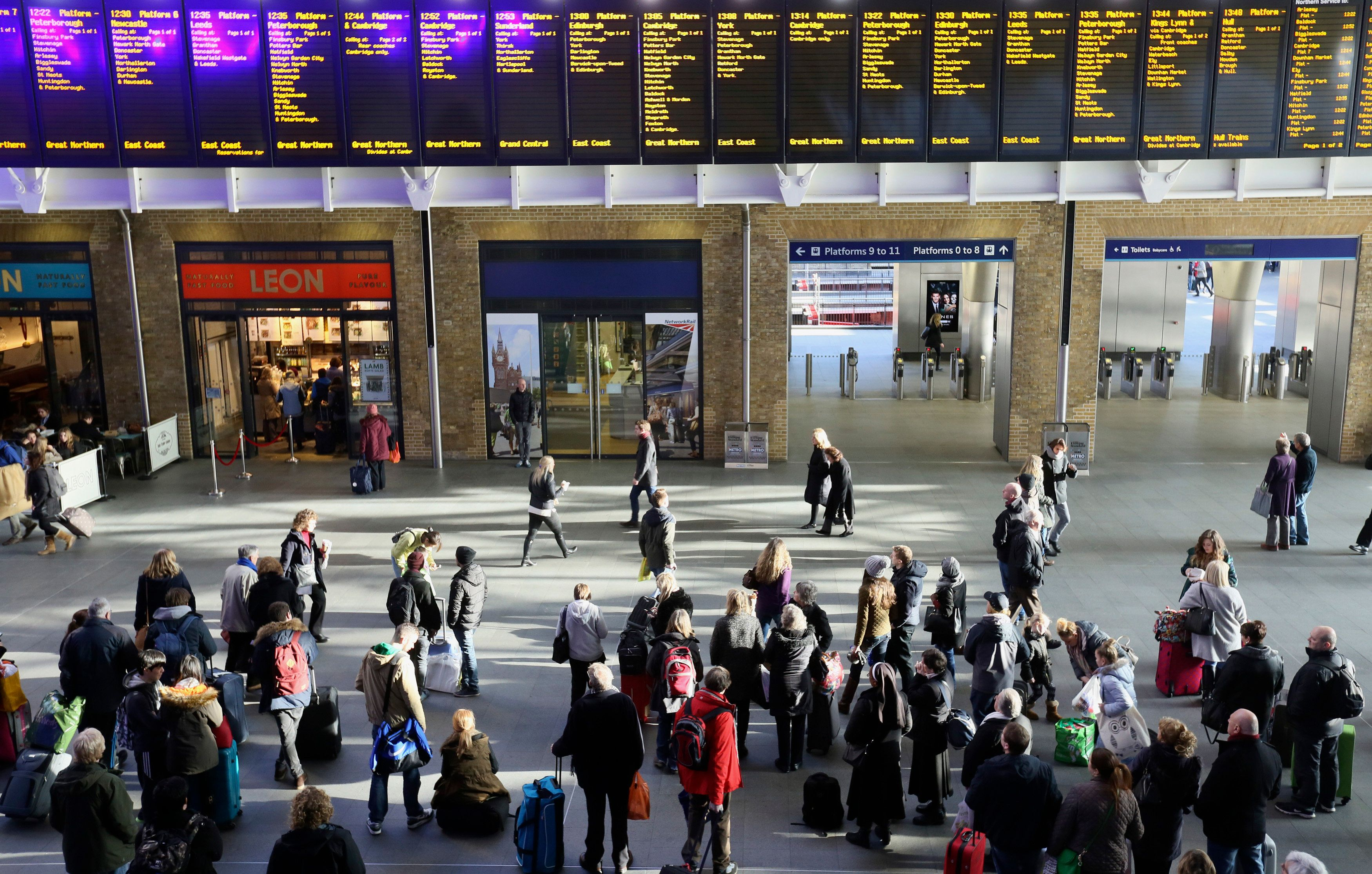 Major Railway Timetable Changes Come Into Effect