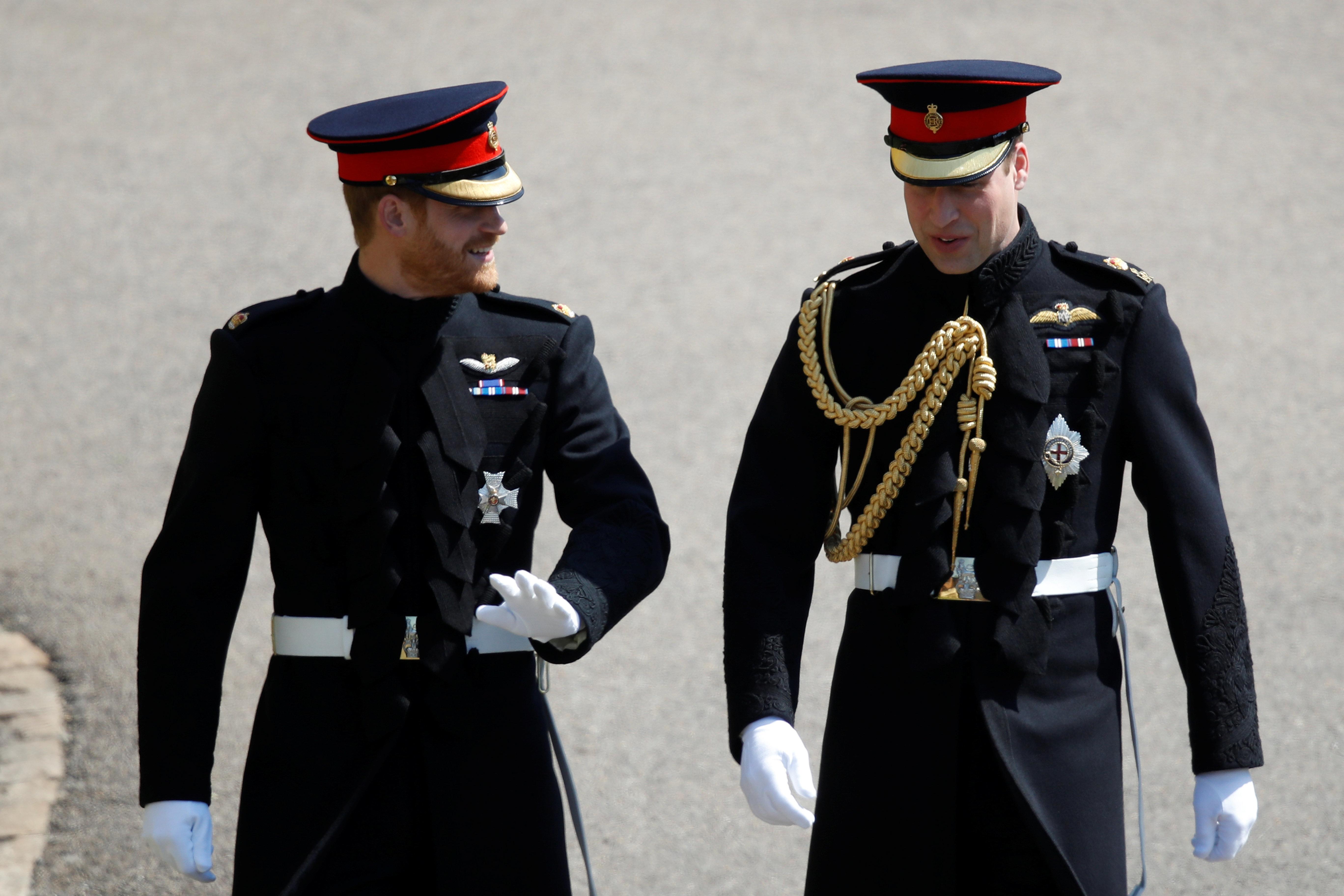 """Lippenleser: """"Darüber haben Prinz Harry und William vor der Hochzeit geredet"""""""