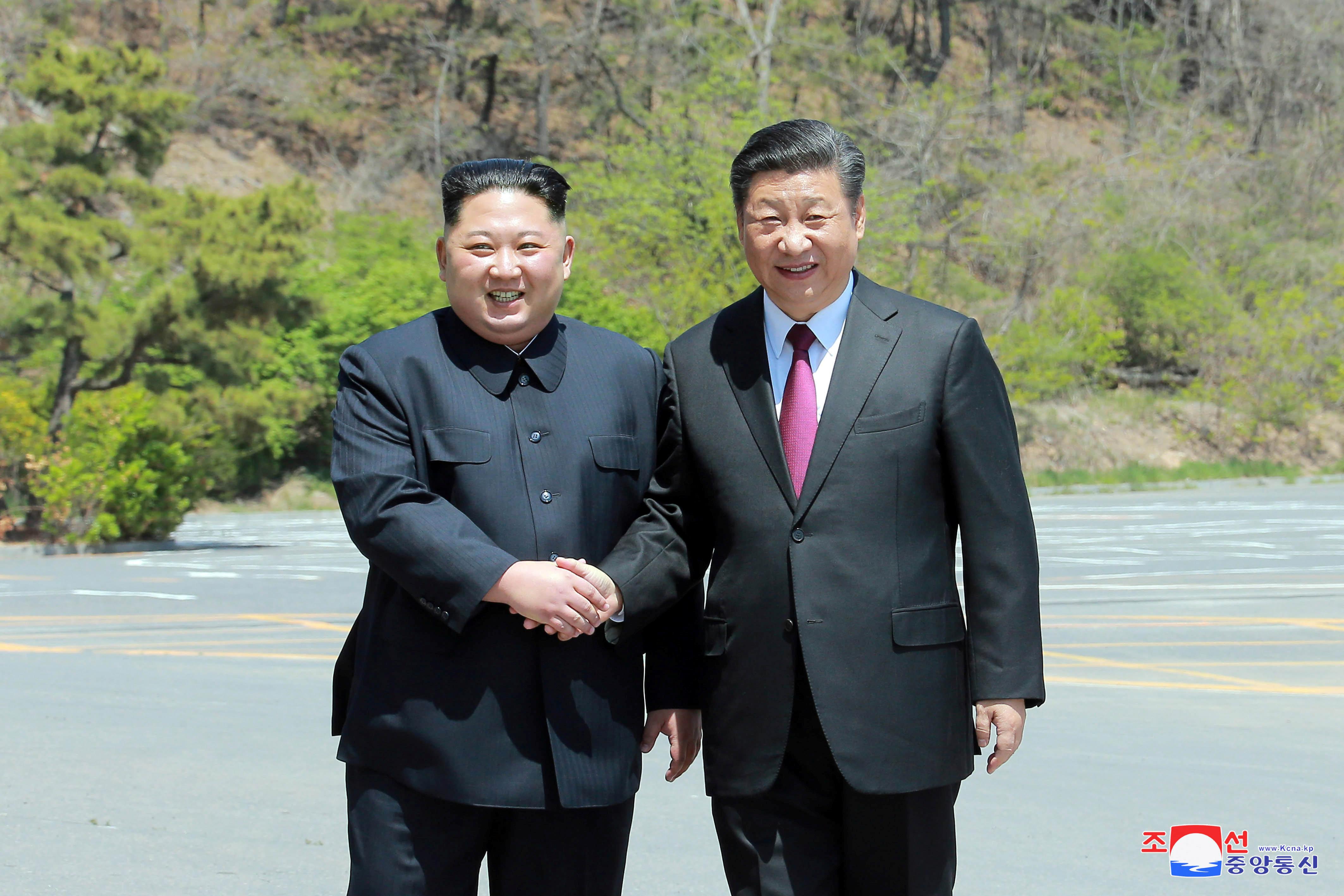 비핵화 국면의 한 컷, 김정은의 시진핑