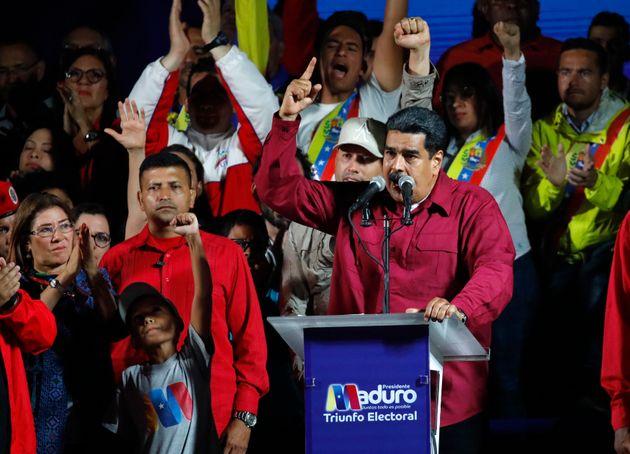 Ο Μαδούρο επανεξελέγη πρόεδρος στη Βενεζουέλα. Η συμμετοχή ανήλθε στο