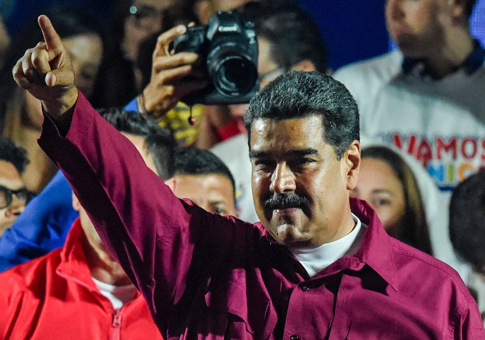 President Nicolas Madurowas declared thewinner of Venezuela's electionon Sunday in a poll rejected as inval