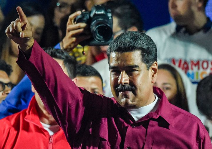 President Nicolas Maduro was declared the winner of Venezuela's election on Sunday in a poll rejected as inval