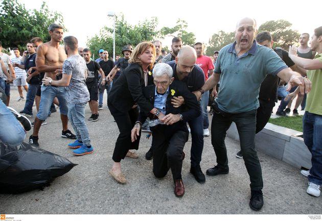 Στον εισαγγελέα οδηγήθηκαν οι τέσσερις συλληφθέντες για την επίθεση στον Γιάννη