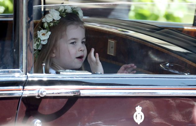 Royal Wedding Photos: Princess Charlotte's Cutest Moments From Harry And Meghan's Big