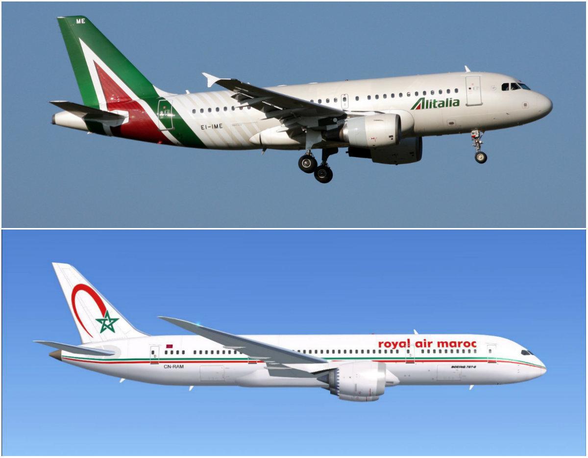 Royal Air Maroc et Alitalia signent un accord de codeshare