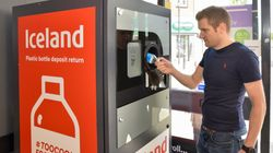 Iceland's 'Reverse Vending Machine' Will Pay You To Recycle Your Plastic Bottles