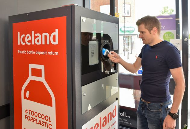 Iceland's 'Reverse Vending Machine' Pays You To Recycle Plastic