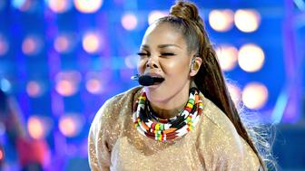 LAS VEGAS, NV - MAY 20:  Honoree Janet Jackson performs onstage at the 2018 Billboard Music Awards at MGM Grand Garden Arena on May 20, 2018 in Las Vegas, Nevada.  (Photo by Jeff Kravitz/FilmMagic)