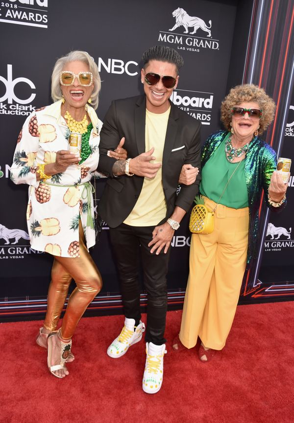 """Jersey Shore"" star Pauly D's guests definitely stole the show in their wild ensembles."