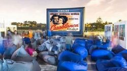 Du cinéma en plein air à Casablanca pendant ramadan