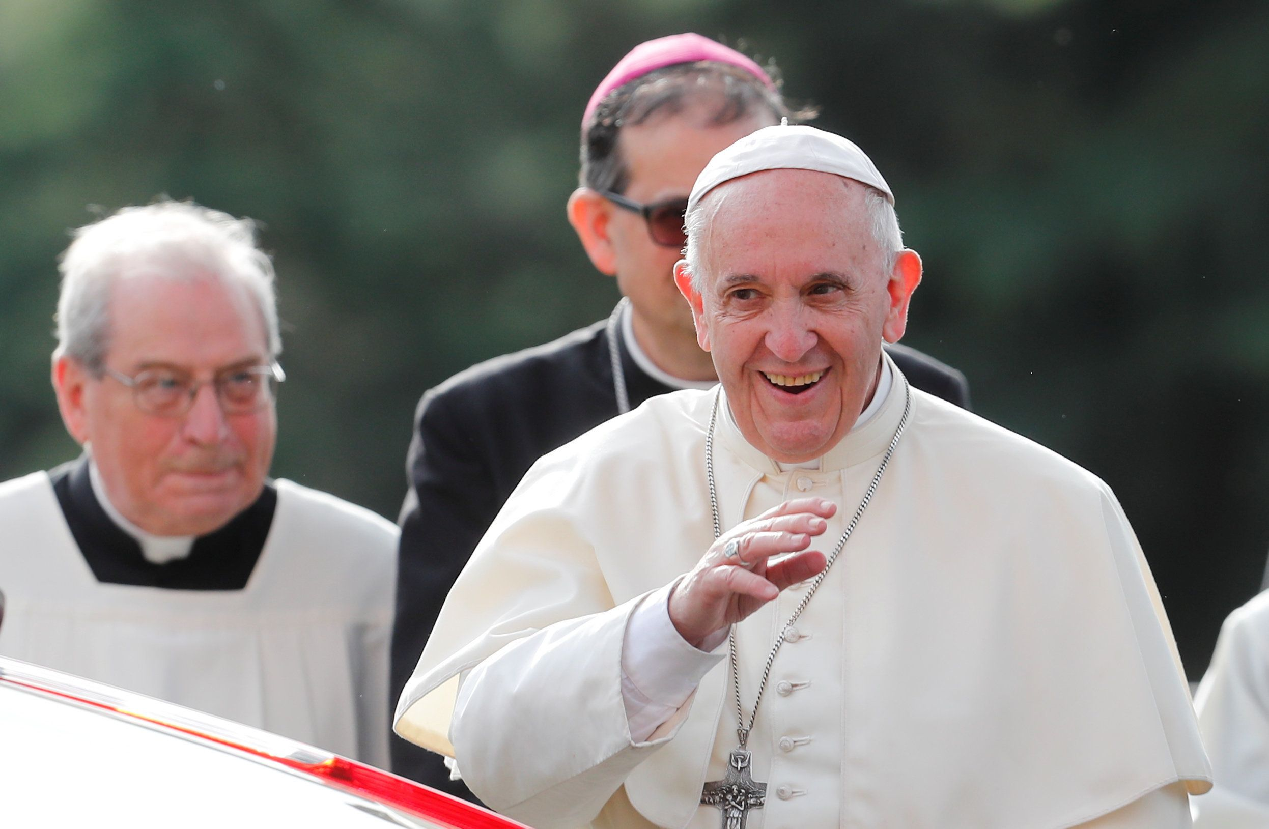 Pope francis speech on homosexuality in japan