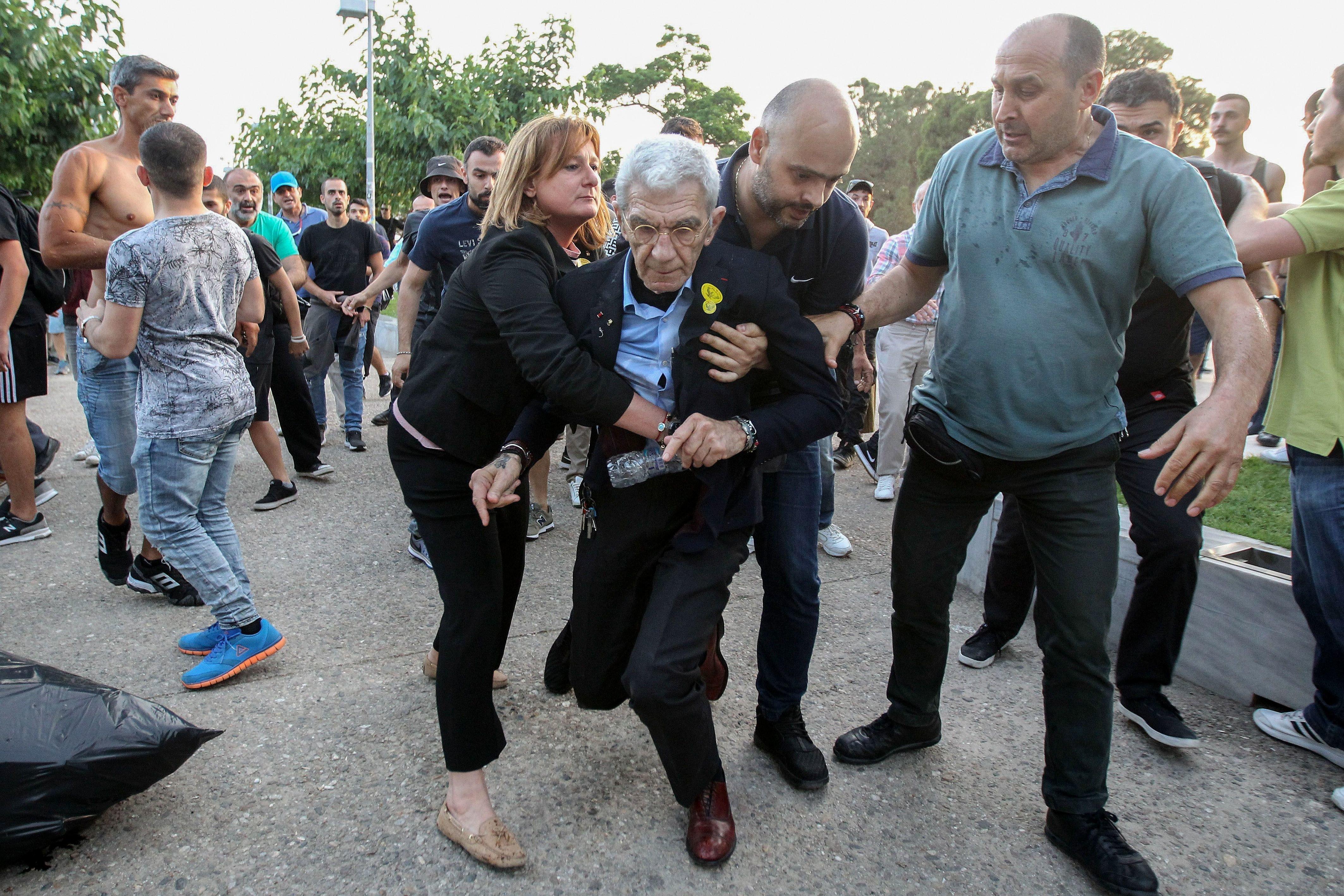 Far-Right Mob Attacks 75-Year-Old Liberal Greek Mayor