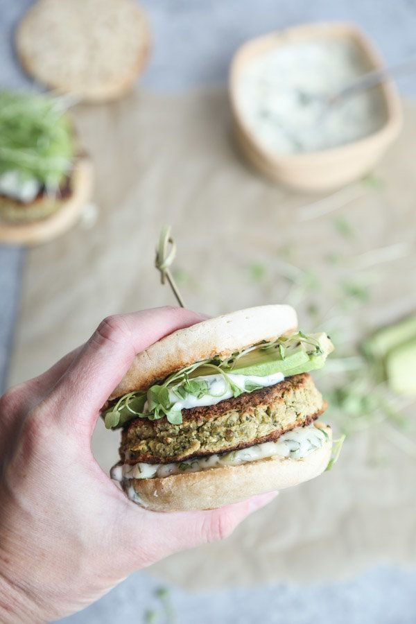 "<strong>Get the <a href=""https://feedmephoebe.com/gluten-free-white-bean-zucchini-burgers/"" target=""_blank"">Gluten-Free White"
