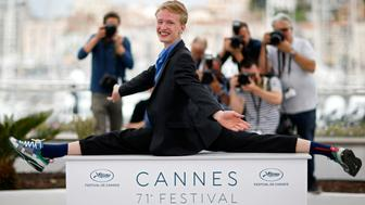 "71st Cannes Film Festival – Photocall for the film ""Girl"" in competition for the category ""Un Certain Regard"" – Cannes, France May 13, 2018. Cast member Victor Polster poses. REUTERS/Stephane Mahe"