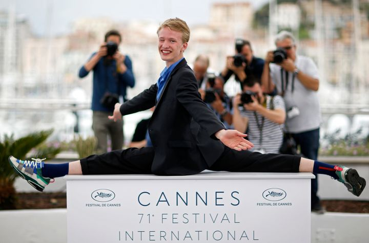"""Victor Polster won acclaim at Cannes for his starring role in Belgium's """"Girl."""""""