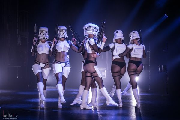 Russell Beattie, the show's director, said the sexy sci-fi show began long, long ago in a theater far, far away ― 2011