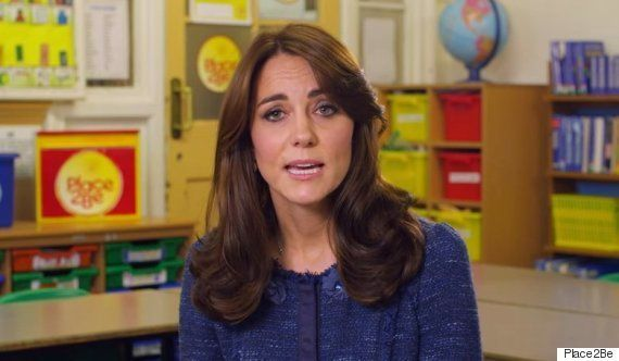 The Duchess of Cambridge is a staunch supporter of children's mental health
