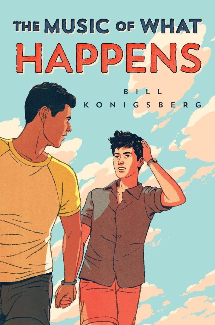 Bill Konigsberg's <i>The Music of What Happens</i> hits retailers in 2019.&nbsp;