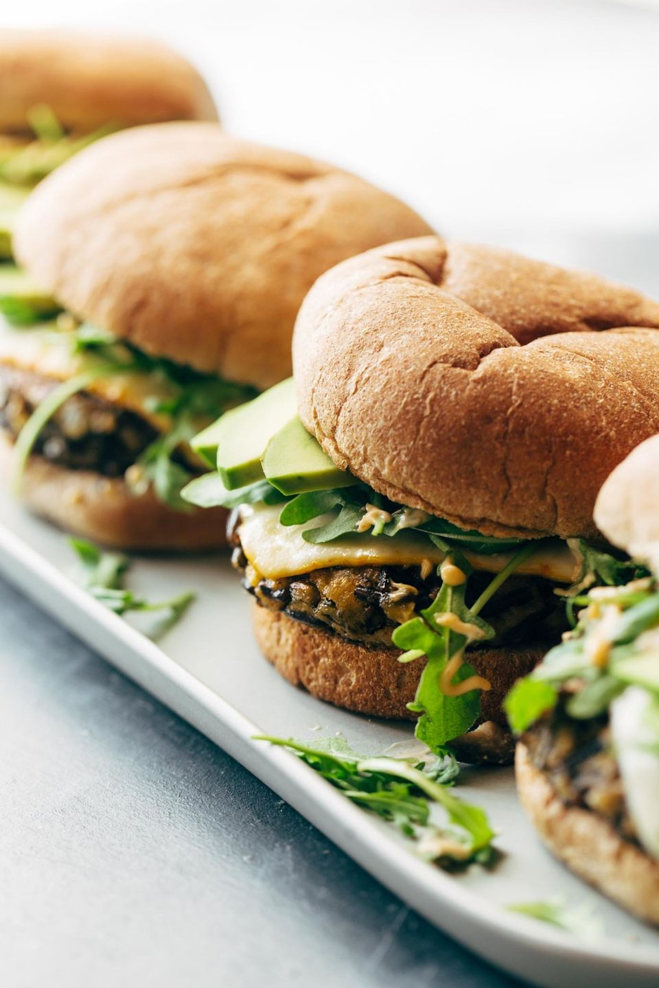 "<strong>Get the <a href=""https://pinchofyum.com/ultimate-wild-rice-burgers"" target=""_blank"">Ultimate Wild Rice Burgers</a> re"