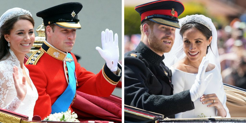 How Meghan Markle And Prince Harry's Wedding Differed From The Last Royal