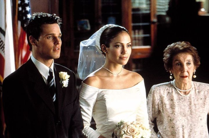 "Jennifer Lopez in ""The Wedding Planner."""