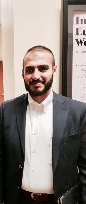 Ali Alghamdi, pictured, quickly realized that his run-in with an angry driver wasn't just a regular case...