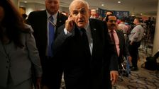 Giuliani says Mueller can't talk to Trump until he hears more about FBI source.