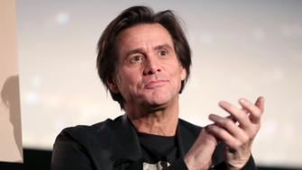 HOLLYWOOD, CA - NOVEMBER 13:  Jim Carrey  speaks onstage during 'Jim & Andy: The Great Beyond - Featuring a Very Special, Contractually Obligated Mention of Tony Clifton' at AFI FEST 2017 Presented By Audi at TCL Chinese 6 Theatres on November 13, 2017 in Hollywood, California.  (Photo by Christopher Polk/Getty Images for AFI)