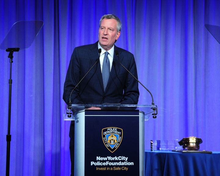 New York City Mayor Bill De Blasio's request for police to stop arresting people who smoke marijuana in public mar