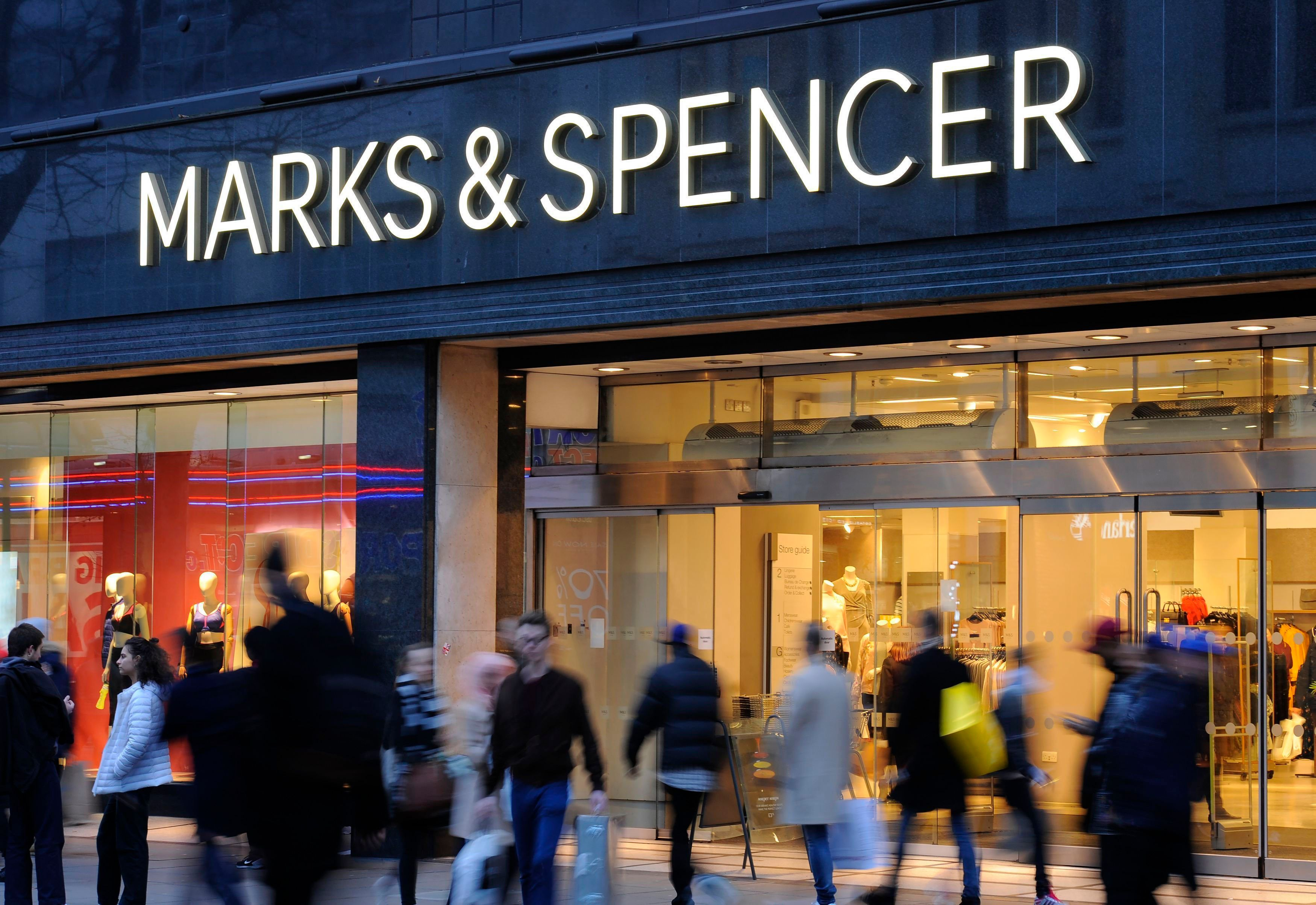 M&S Reports Huge Fall In Profits