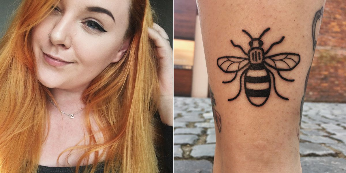 People Are Sharing Their Manchester Bee Tattoos A Year After The Arena Attack