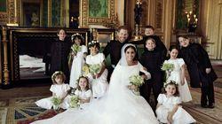 Mariage de Meghan Markle et du prince Harry: le couple bien entouré dans leurs portraits