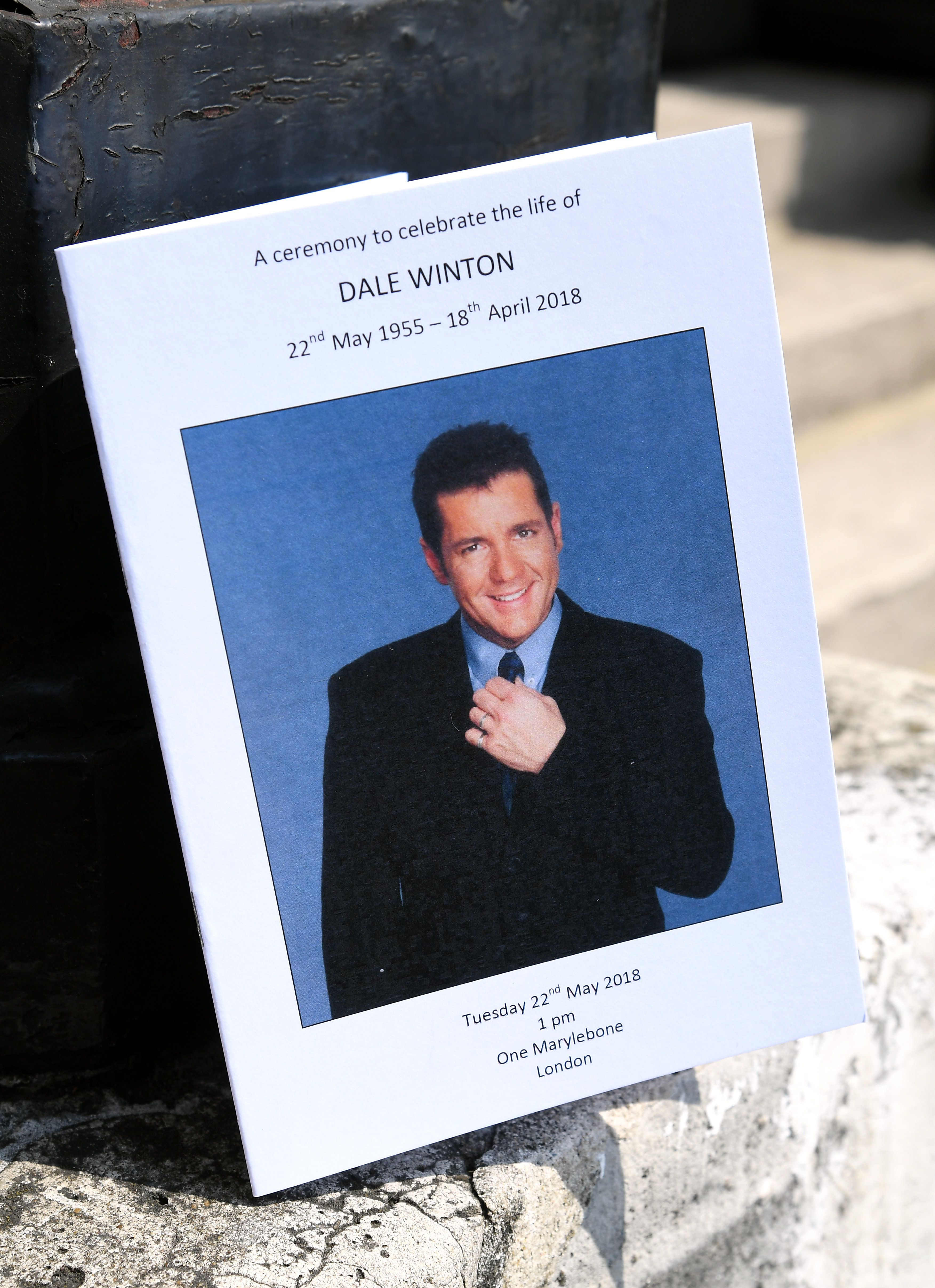 Dale Winton Laid To Rest After Star-Studded, Non-Religious