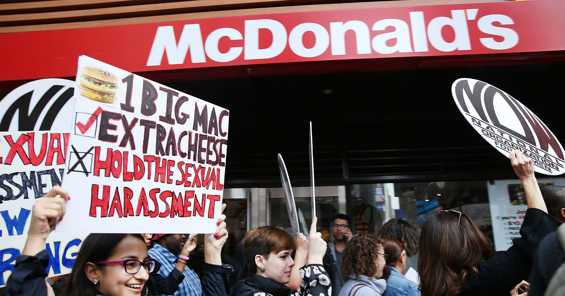 Time's Up Takes Aim At McDonald's, Walmart Over Sexual Harassment Complaints